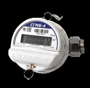 Счетчик газа СГМБ-4,0